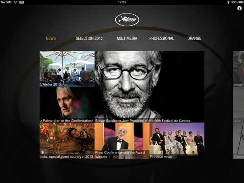 App for Cannes Film Festival