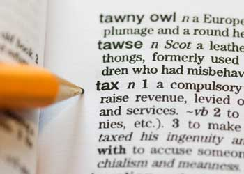 Tax: Dictionary definition