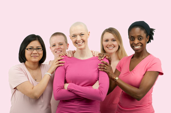 Ladies with cancer support