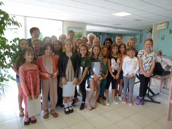Mougins School Harvest Festival