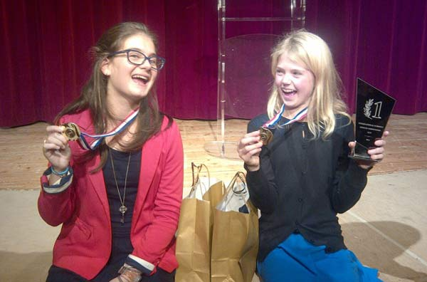 Mougins School winners of Speech Competition