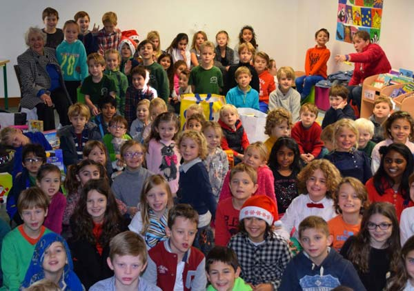 Mougins School Kids at Christmas
