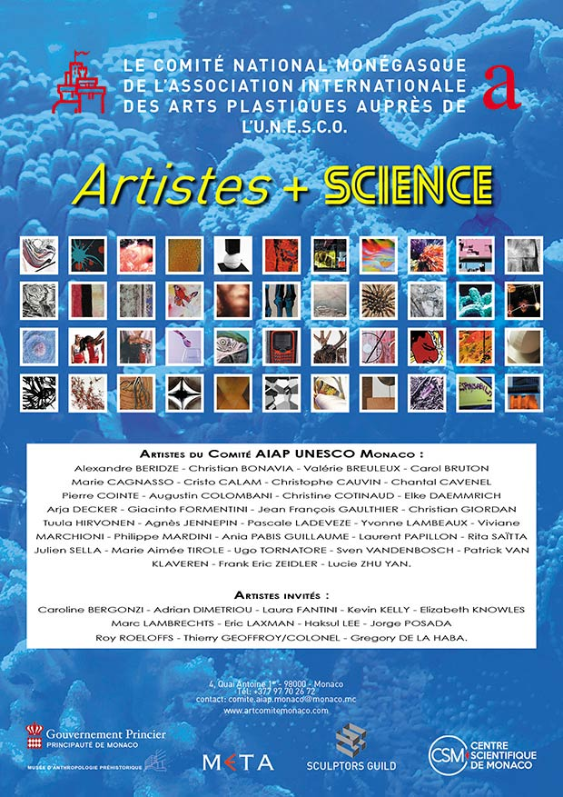 """Artistes + Science"" Exhibition in Monaco"