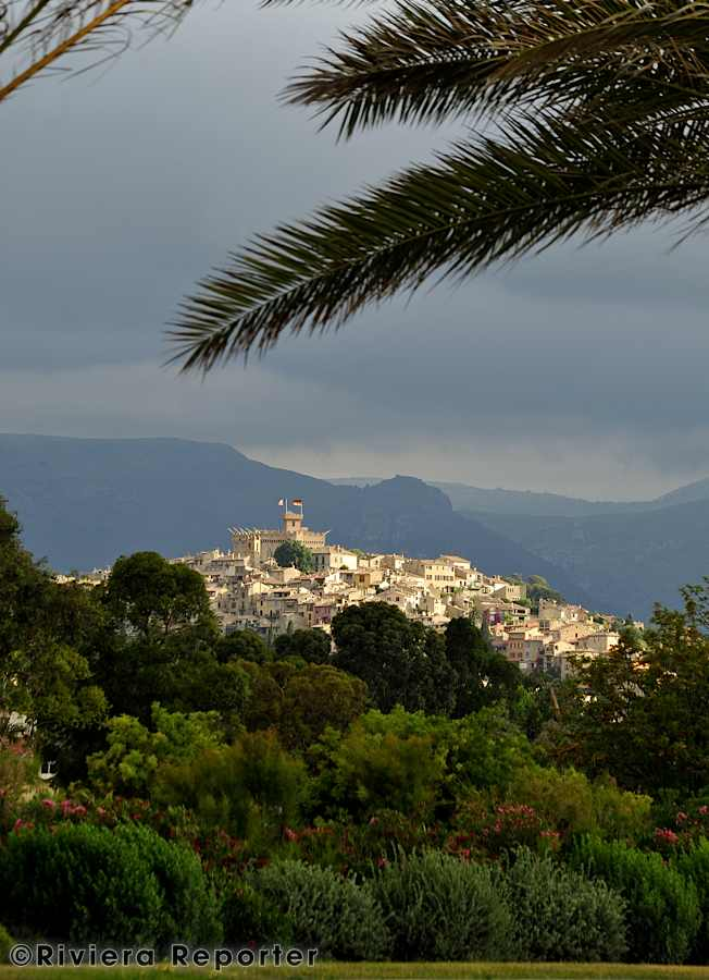 Cagnes on the French Riviera