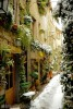 Mougins in the snow