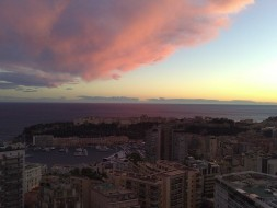 Monaco cloud formations - before