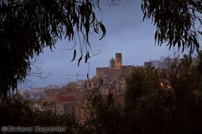 Grasse in winter