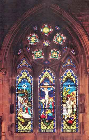 Christ Church Cannes Window