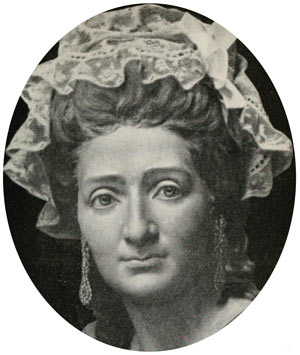 Mme Tussaud age 42