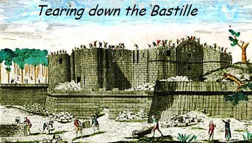Destruction of the Bastille