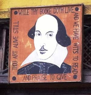 Shakespeare Sign