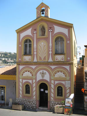 Villefranche Fishermans chapel