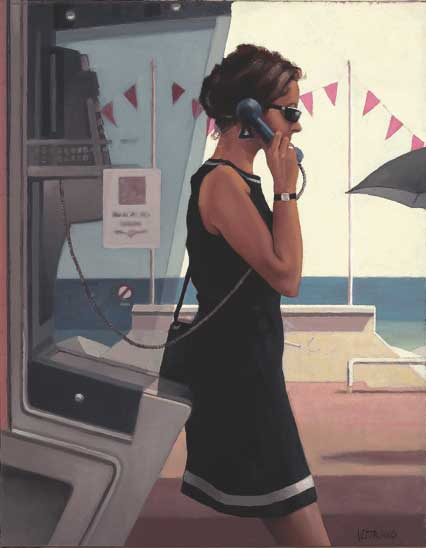 Vettriano Painting: Her Secret Life