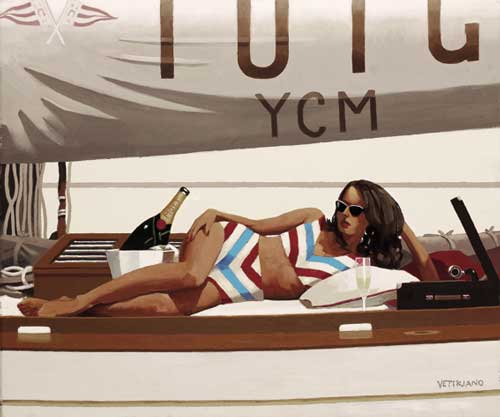 Jack Vettriano: Sunshine and Champagne
