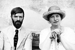 DH Lawrence with Frieda