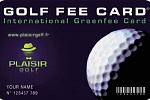 Golf Fee Card