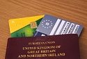 UK Passport with EHIC card