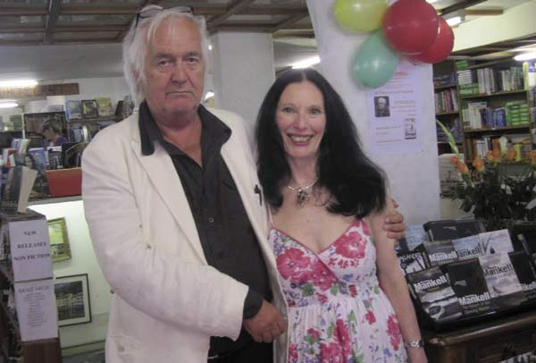 Heidi Lee with Henning Mankell
