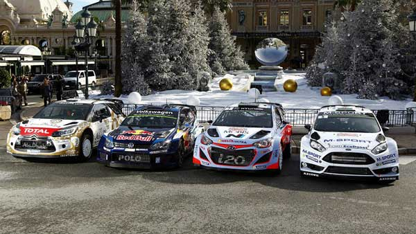 Monte Carlo Rally Cars