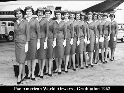 Pan Am Graduation 1962