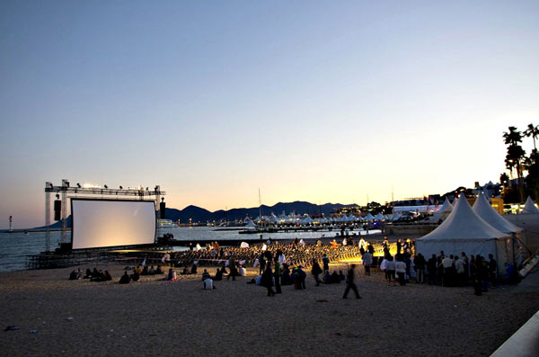 Cannes Film Festival Outdoors