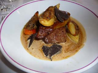 French Beef With Foie Gras