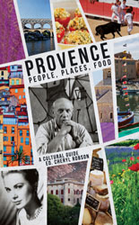 Provence cultural guide book cover