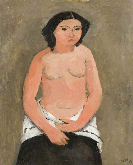 Breton Nude by William Scott